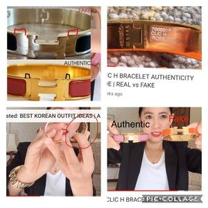 HERMÈS Clic H Bracelet Authentic